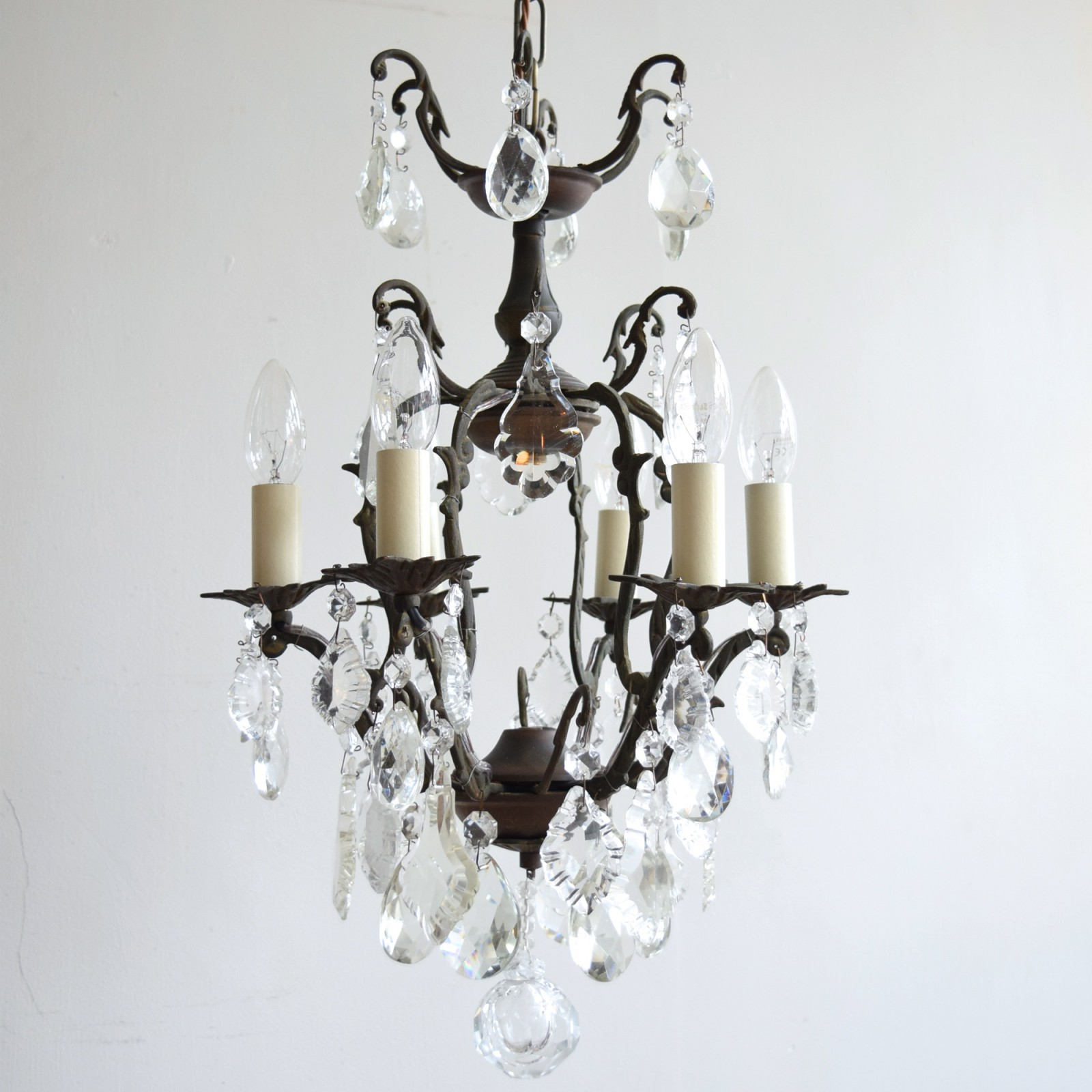 Birdcage Chandelier Agapanthus Interiors