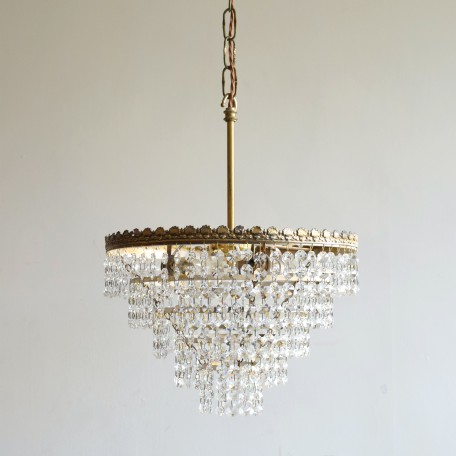 contemporary waterfall chandelier
