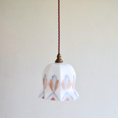 Art Deco glass shade