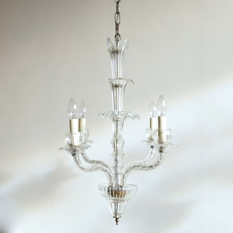 elegant elongated crystal chandelier