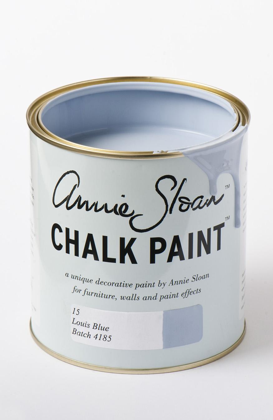 Annie Sloan chalk Paint in Louis Blue