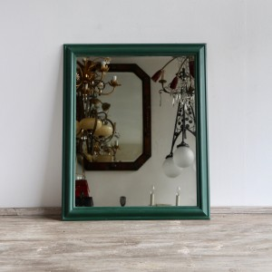 green-painted-mirror