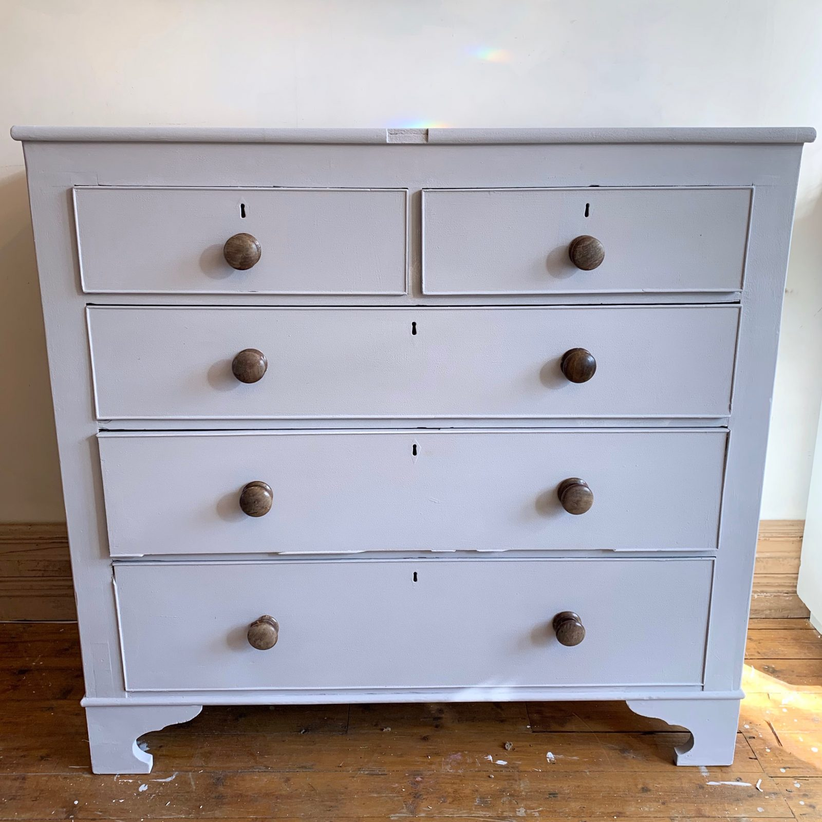 Solid Wood Chest Of Drawers Painted In Annie Sloan 3