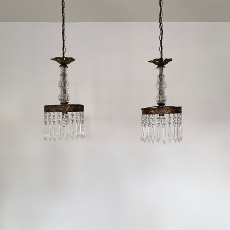 Pair of Bespoke Chandelier Pendants