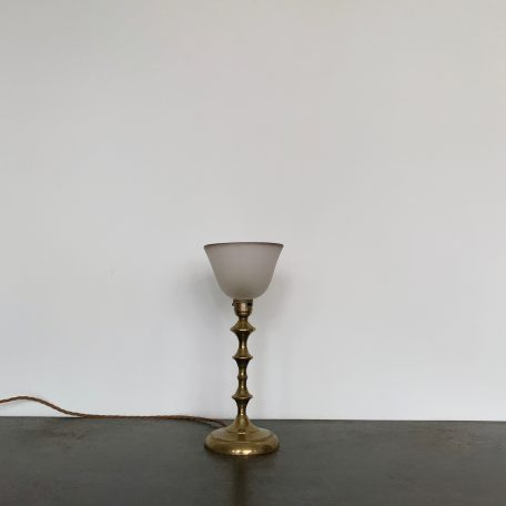 Small Vintage French Brass Lamp
