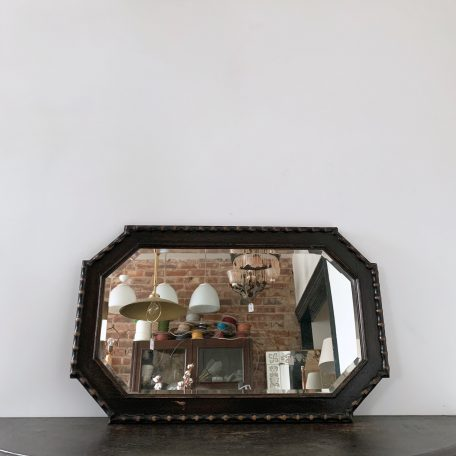 Dark Solid Oak Mirror