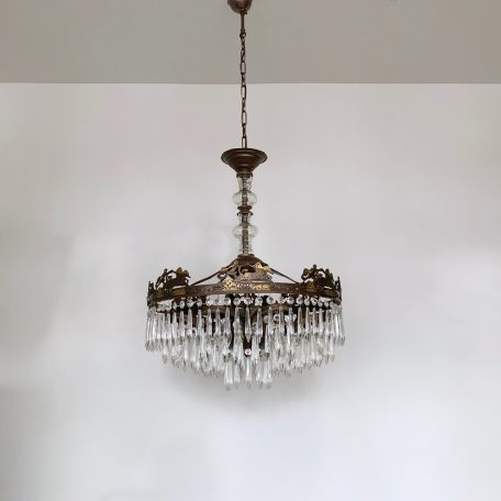 Large Continental Waterfall Chandelier
