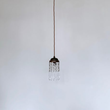 Bespoke Faceted Icicle Pendants