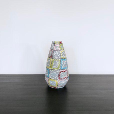 Geometric Italian Pottery Vase