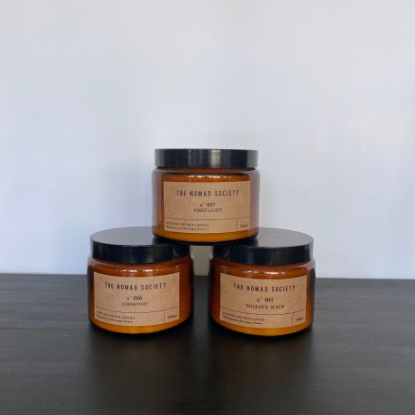 Nomad Society Soy Candles 500ml