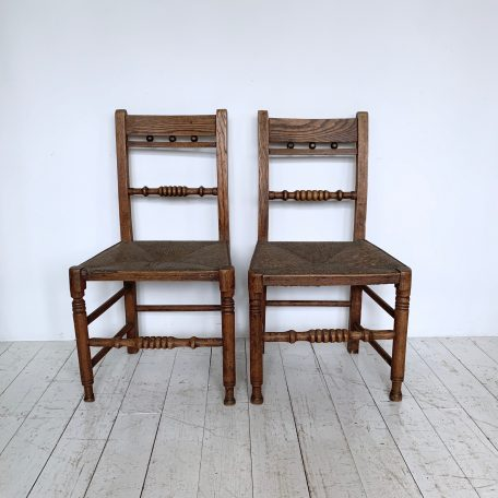 Pair of Farmhouse Chairs