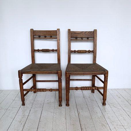 Pair of Farmhouse Chairs