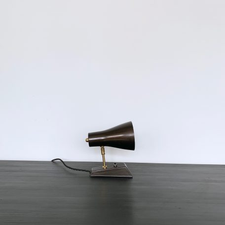 Small Vintage Adjustable Black Desk Lamp