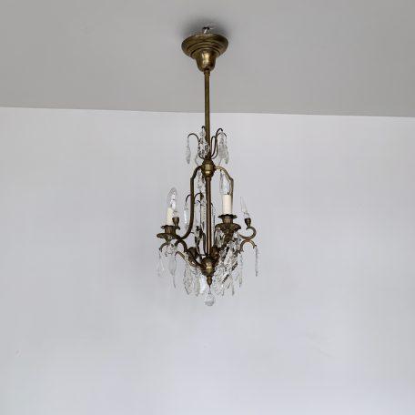 Brass Louis XIV Style Chandelier