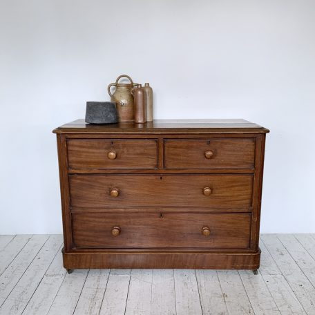 Veneered Chest of Drawers