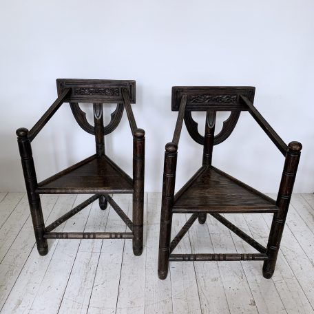 Pair of Victorian Turner's Chairs