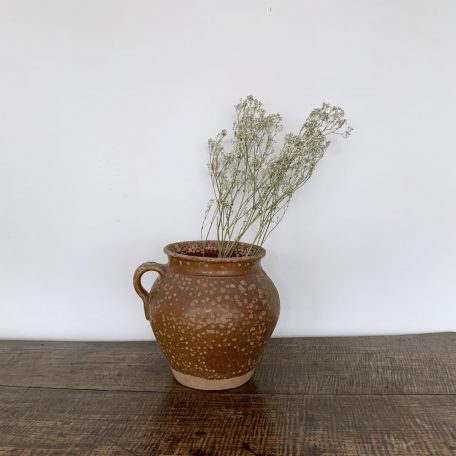 Large Speckled French Pot