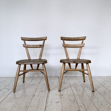 Pair of Children's Ercol Chairs