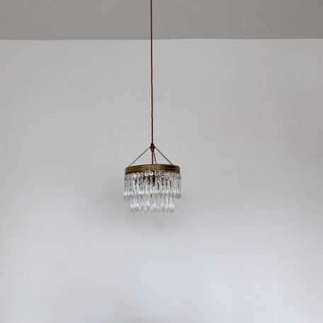 Two Tier Icicle Waterfall Chandelier Pendant