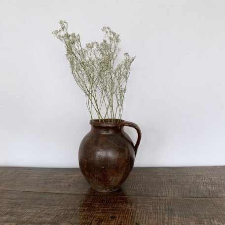 Vintage French Stoneware Pot