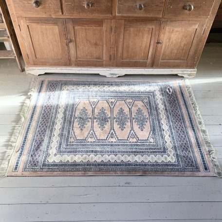 Antique Indian Silk Rug