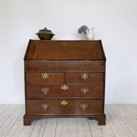 Small Solid Wood Bureau