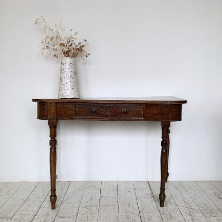 19th Century Mahogany Side Table with Drawer