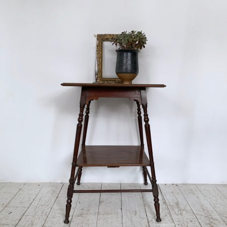 20th Century Solid Wood Side Table