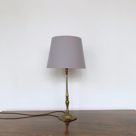 Elegant Early 1900s French Brass Table Lamp