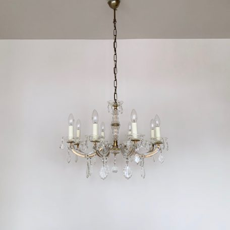 French Eight Arm Marie Thérèse Chandelier
