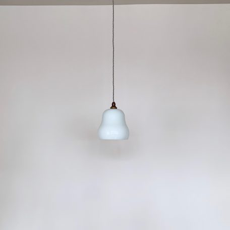 French White Polished Glass Shade