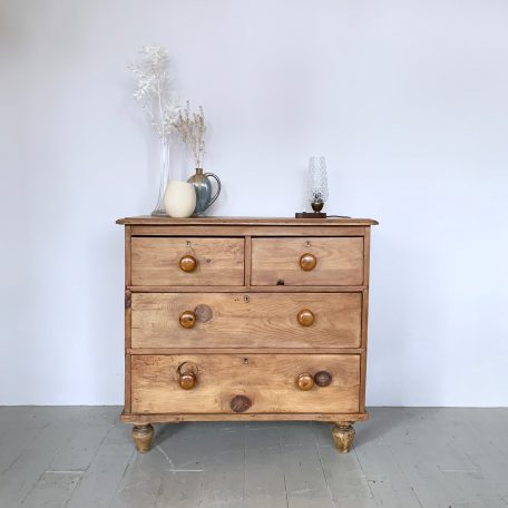 Small Rustic Pine Drawers