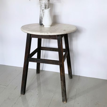 Vintage Distressed Painted Table