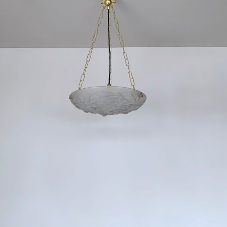 Frosted Glass Fly Catcher Diffuser Pendant