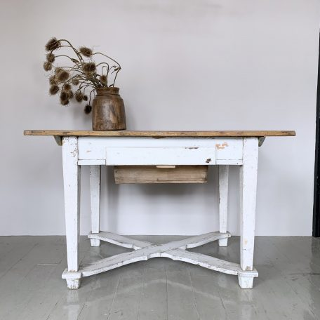 Hungarian Distressed Painted Table