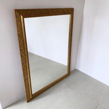 Large Decorative Gold Mirror