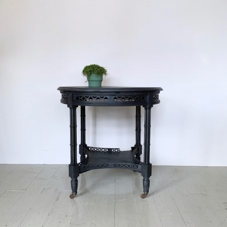 Painted Victorian Side Table