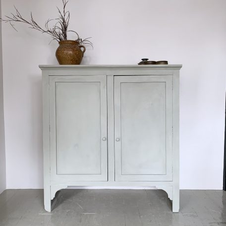 Sage Green Painted Cabinet