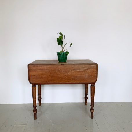 Small Wooden Drop Leaf Table