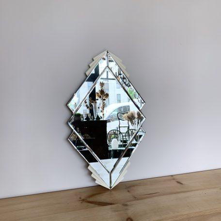 Art Deco Diamond Shaped Mirror