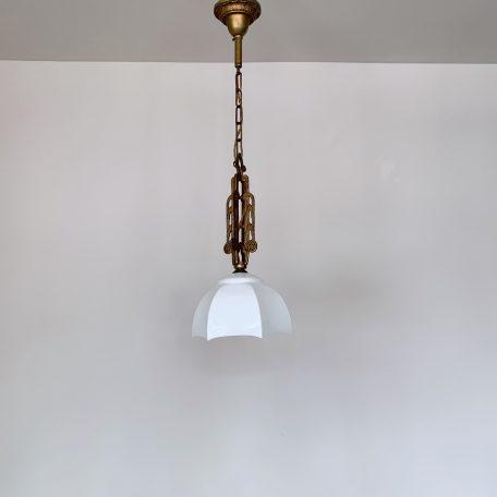 Art Deco Gilt Brass Pendant