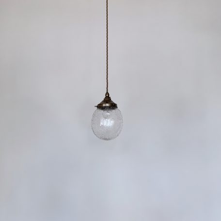 Clear Textured Glass Shade