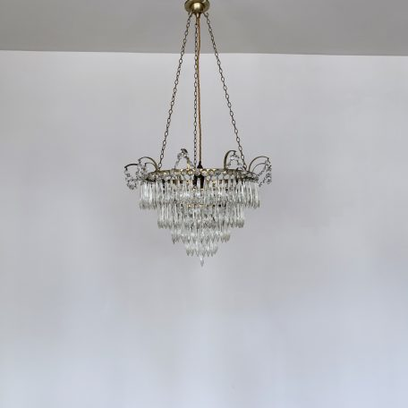 Crystal Icicle Waterfall Chandelier