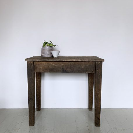 Reclaimed Wooden Side Table