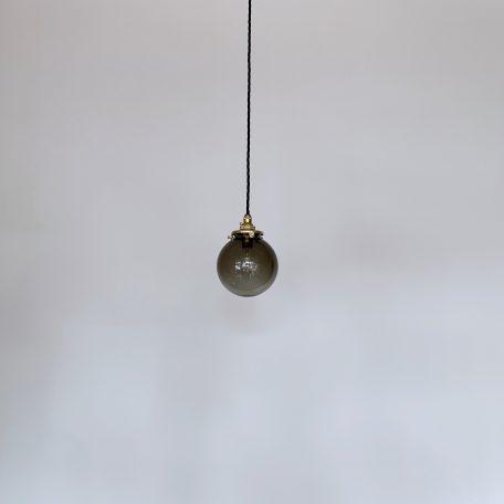Small Smoked Glass Globe Shades