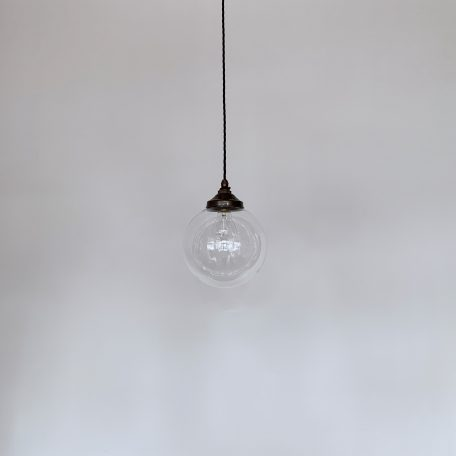Clear Polished Glass Globe Shades