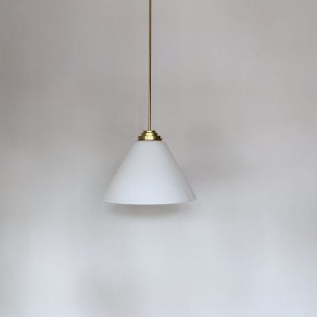Large Enclosed Conical Glass Shades
