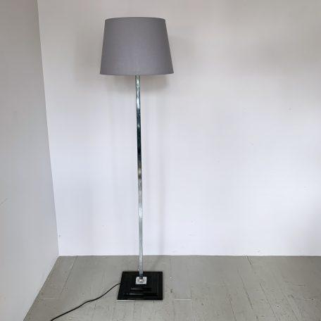 Chrome Deco Style Floor Lamp