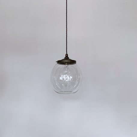 Clear Glass Shade with Decorative Gallery