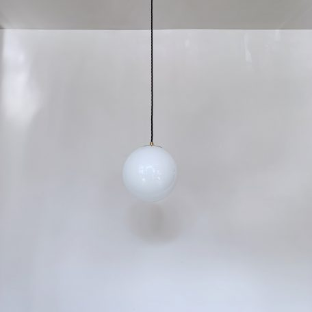 Contemporary Globe Shade on Monks Cap Fitting